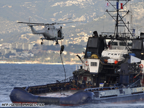 French commandos last year training for operations against pirates.