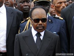 Omar Bongo is Africa's longest-serving ruler.