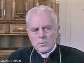 Bishop Richard Williamson had denied the existence of the Holocaust, saying there were no gas chambers.