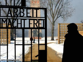 The Sachsenhausen concentration camp just north of Berlin where the U.S. says Krumpf worked as an SS guard.
