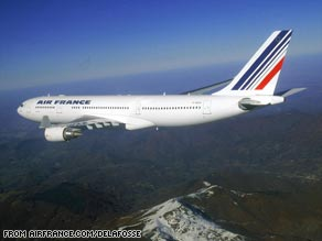The incident involves an Air France Airbus A330-200.
