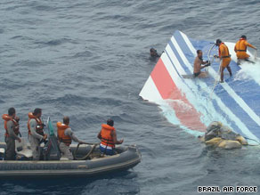 Officials have found several items confirmed to have come from Air France Flight 447.