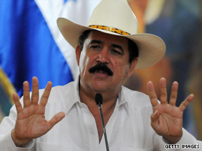 Honduras President Jose Manuel Zelaya was detained and sent to Costa Rica, the government said.