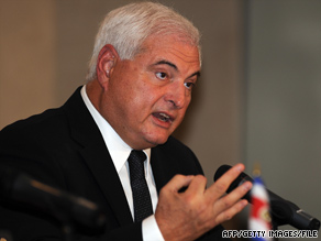 Ricardo Martinelli is a pro-business conservative who defeated a candidate from the ruling center-left party.