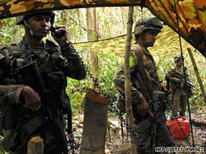 The Revolutionary Armed Forces of Colombia, known as FARC, has been at war with the government for decades.