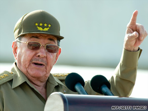 Raul Castro warns his critics there will not be any upcoming change in Cuba's political philosophy.
