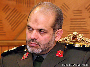 Ahmad Vahidi has been nominated to serve as Iran's defense minister.