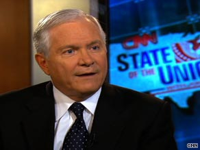 Defense Secretary Robert Gates said it may take longer than expected to close Guantanamo prison.