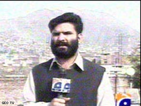 Mosa Khankhel was reporting for GEO TV when he was killed.