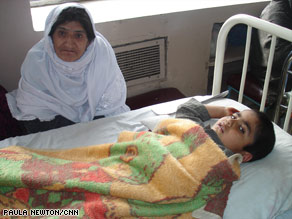 Many families at Indira Gandhi Children's Hospital in Kabul, Afghanistan, seem resigned to the situation.
