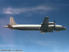 Two Russian Ilyushin IL-38 maritime patrol aircraft flew only 500 feet above a U.S. aircraft carrier.