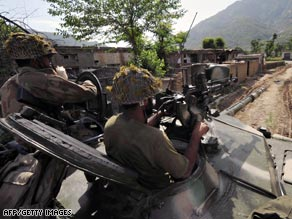 Pakistan has launched a massive military operation against the Taliban in the Swat Valley.