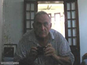 Officials in Myanmar say this self-portrait was found on John Yettaw's digital camera.