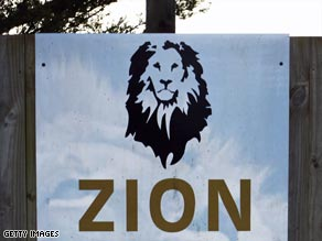 The zookeeper at Zion Wildlife Gardens in New Zealand could not be saved by other staff.