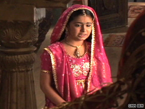 Avika Gor, who plays child bride Anandi in the popular but controversial show.