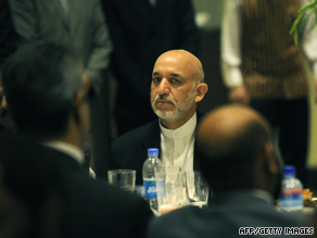 Afghan President Hamid Karzai has been accused of rigging the August 20 election by his chief rival.