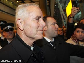 Pope Benedict XVI has admitted making mistakes over Bishop Williamson's, pictured, return.