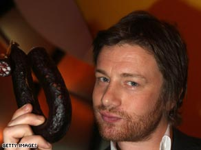 Jamie Oliver has devised menu G-20 leaders will eat during a visit to Prime Minister Gordon Brown's residence.