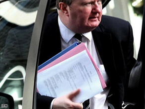 Bob Quick was photographed arriving at Downing Street holding a document revealing details of the raid.