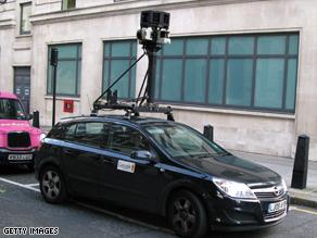 car google street view