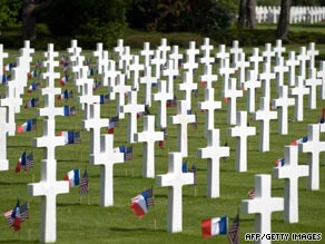 Thousans of allied troops lost their lives in the D-Day landings of June 1944.