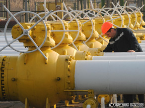 The proposed pipeline could end Russia's near monopoly on gas supplies to Europe.