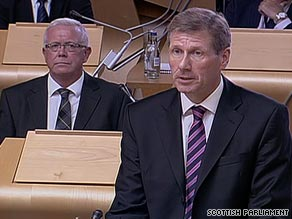 Scottish Justice Secretary Kenny MacAskill says compassion was the only factor in the release.