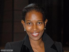 Ayaan Hirsi Ali is an outspoken critic of Islam.