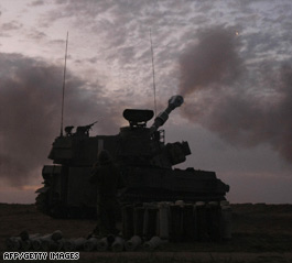 Israeli ground troops move into Gaza