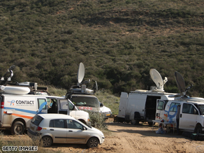The world's media have been camped on the Israeli border with Gaza.