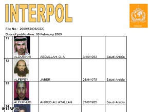 Interpol says the scope of its global alert is unprecedented.