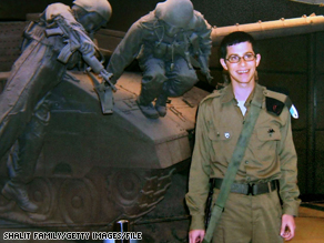 Gilad Shalit, who was seized by militants in 2006, is shown in a family photo.