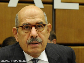 IAEA chief Mohamed ElBaradei is asking nations, including Israel, to make relevant information available.