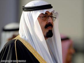 Saudi Arabia's King Abdullah.