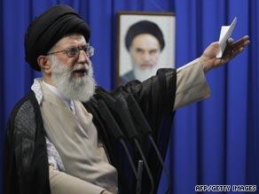 Iran's supreme leader Ayatollah Ali Khamenei said last week's election demonstrated the majority of Iranians trusted the Islamic regime.