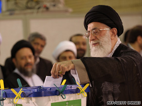 Ayatollah Ali Khamenei's Friday sermon is being anxiously awaited in Tehran and the rest of Iran.