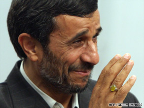Iran's Islamic leadership says President Mahmoud Ahmadinejad was re-elected and that the case is closed.