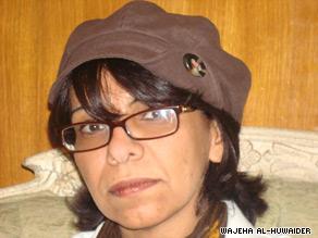 Wajeha al-Huwaider says women face too many controls in Saudi Arabia.