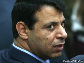 A bomb Tuesday injured relatives of Mohammed Dahlan, the Palestinian Authority's national security adviser.