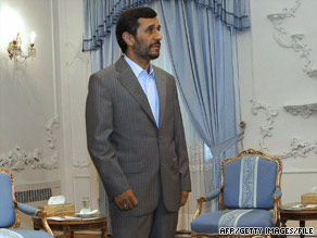 Iranian President Mahmoud Ahmadinejad begins his second term in the first week of August.