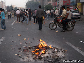 Dozens of protesters face charges in the aftermath of Iran's presidential elections.