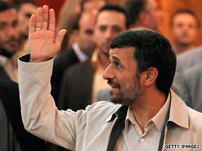 Mahmoud Ahmadinejad will be sworn in as president of Iran on Wednesday.