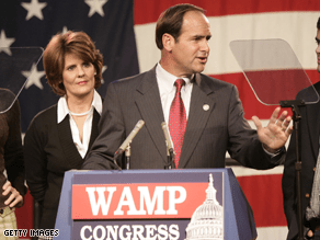 Wamp is running for governor of Tennessee.