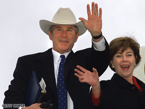 The President and First Lady will attend a welcome home event in Midland, Texas on Inauguration Day.
