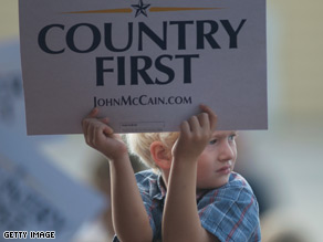 Former Republican presidential candidate John McCain will announce Wednesday the formation of the Country First PAC.