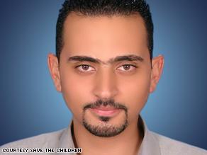 Osama Damo, deputy Gaza program manager for Save the Children