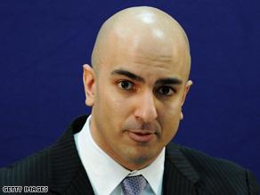 Assistant Treasury Secretary Neal Kashkari has been responsible for TARP under the Bush administration.