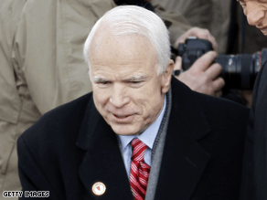 McCain laughed off his daughter's complaints about her love life.