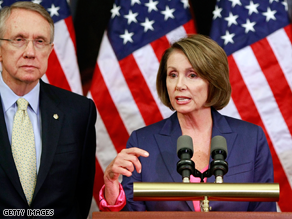 A new poll says Americans are happy Democrats are in control of Congress.