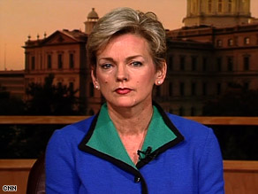 Granholm: overstated the break that manufacturers get in countries with universal health care.